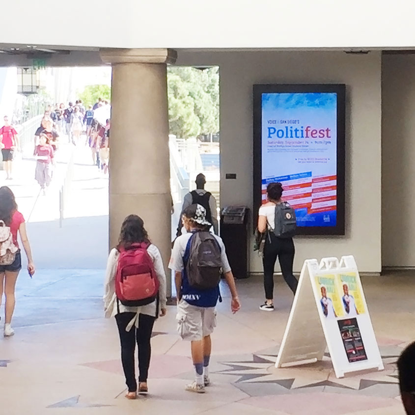 Politifest 2016 event at SDSU
