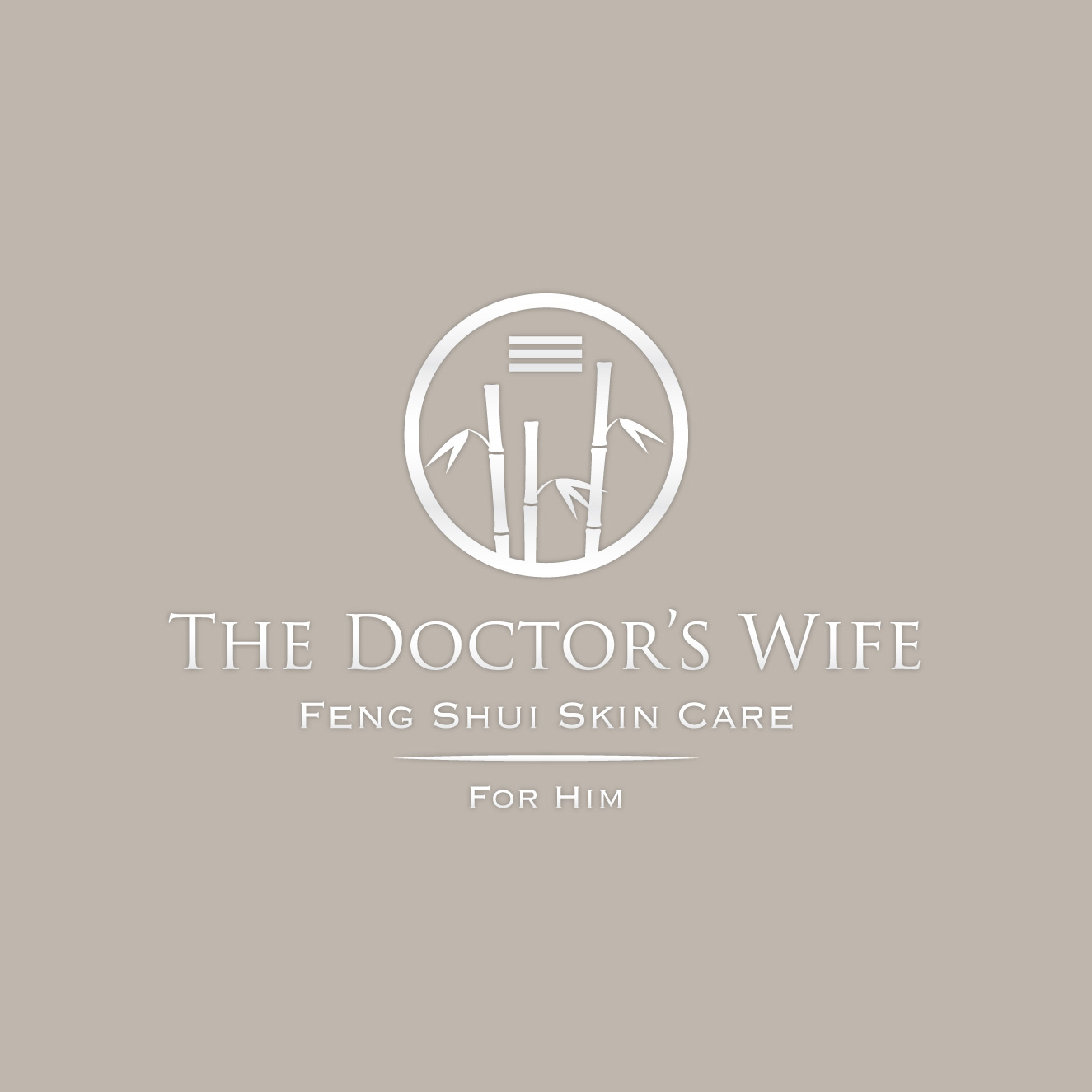 The Doctor's Wife skin care logo series by Ashley Lewis