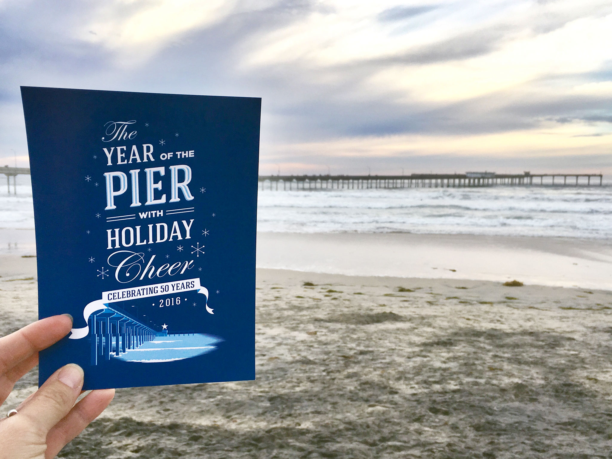 The Year of the Pier with Holiday Cheer