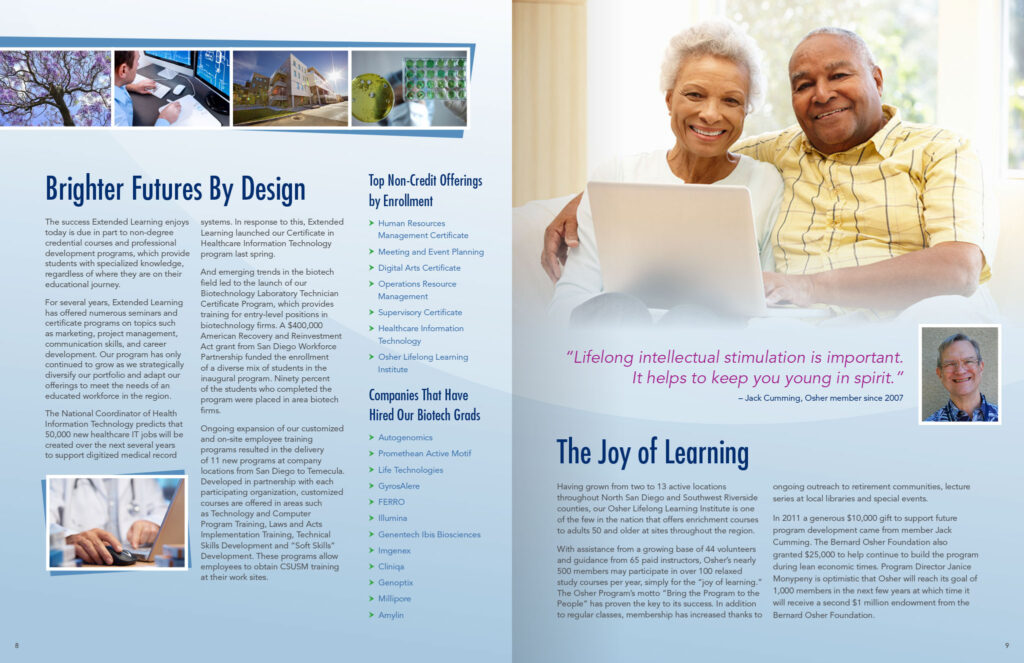CSUSM Extended Learning report