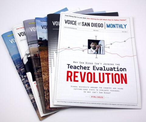 VOSD Magazine design by Ashley Lewis